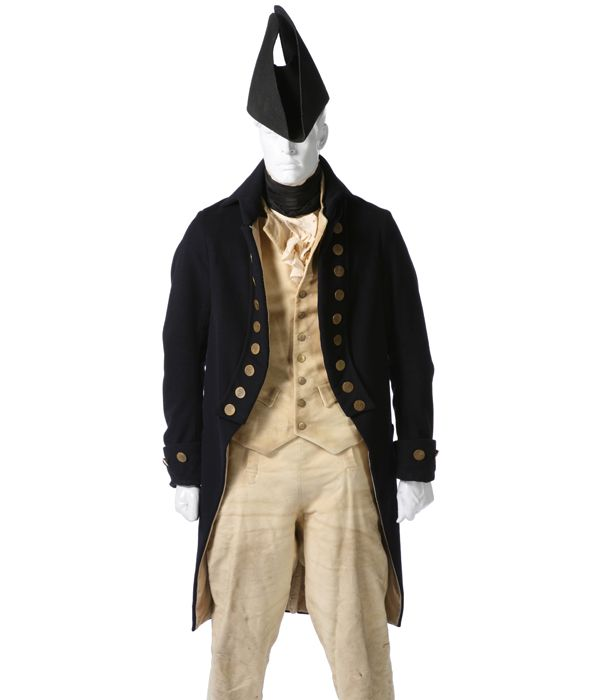 BRITISH ROYAL NAVY WARRANT OFFCIER'S UNDRESS UNIFORM | Eastern Costume : A Motion Picture Wardrobe