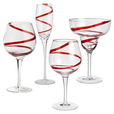 1000 images about pier 1 christmas on pinterest for Holiday stemware