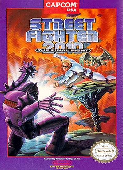 A review for the classic NES futuristic Action/Sci-fi video game, 'Street Fighter 2010.' And what happened to one of the Street Fighters in the future!