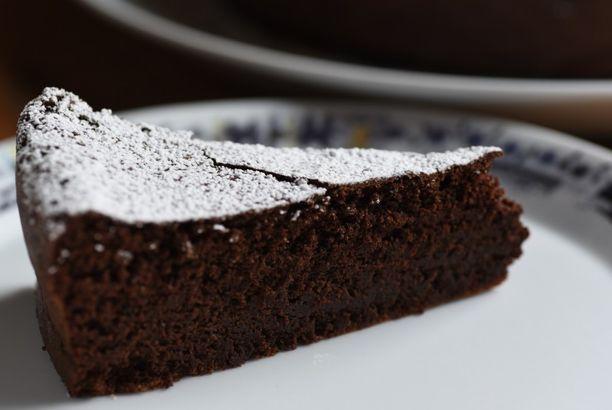 Chokoladekage uden mel
