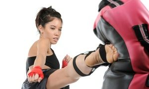 Groupon - 5 or 10 Kickboxing Sessions with Kickboxing Gloves at United States Karate Academy (Up to 80% Off) in Multiple Locations. Groupon deal price: $29