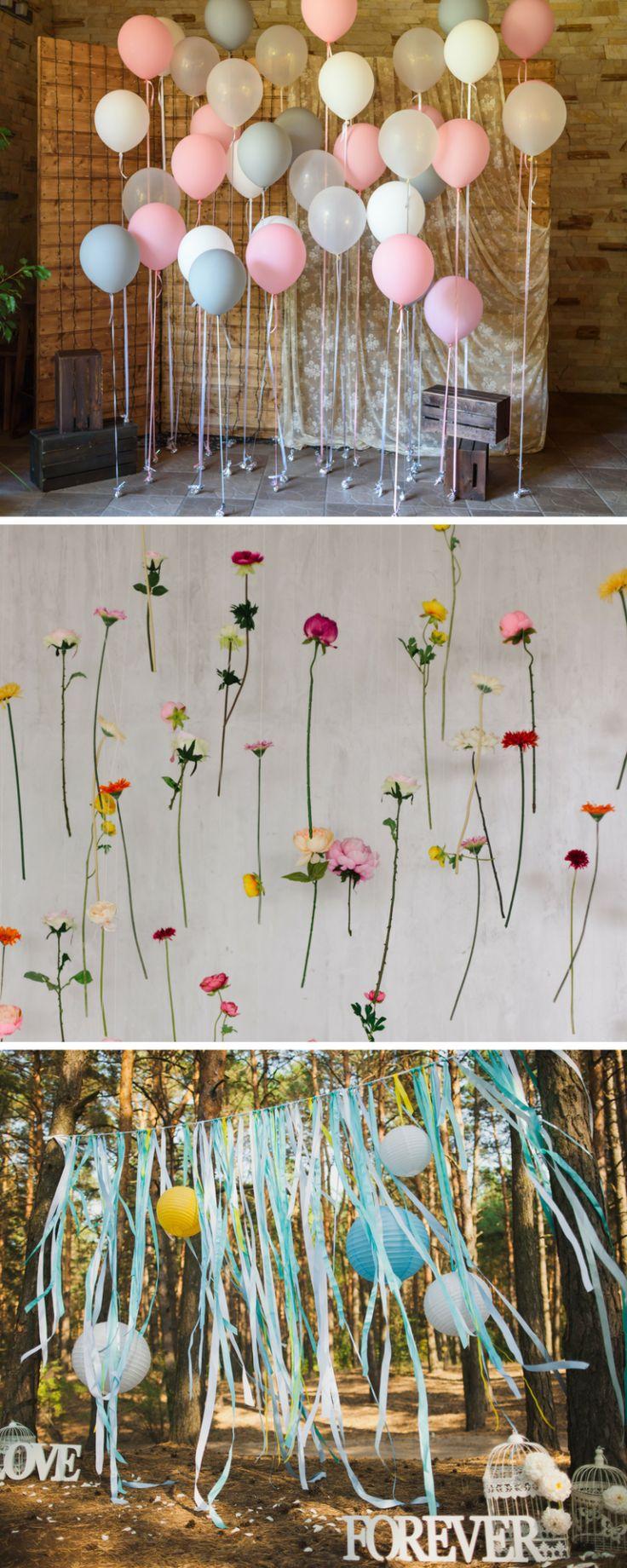 Fotobox für die Hochzeit: 40 coole Fotowand-Ideen
