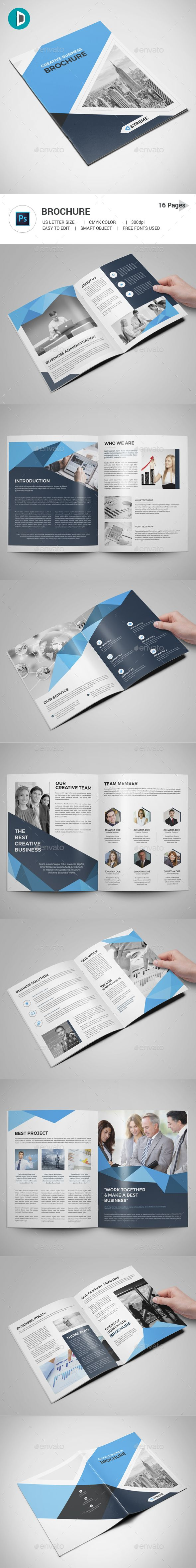 #Brochure - #Corporate Brochures Download here: https://graphicriver.net/item/brochure/19458943?ref=alena994