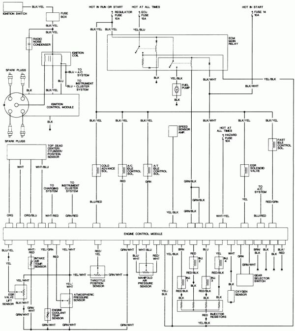 92 honda accord engine wiring diagram and accord wiring diagram | wiring  schematic diagram in 2020 | honda accord, honda prelude, repair guide  pinterest
