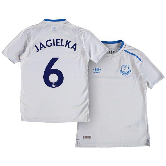 Youth Kit 17-18 Everton Shirt Jersey phil jagielka Away Top