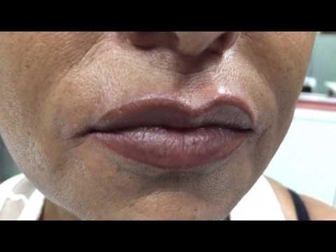 Lips , trucco permanente labbra - YouTube
