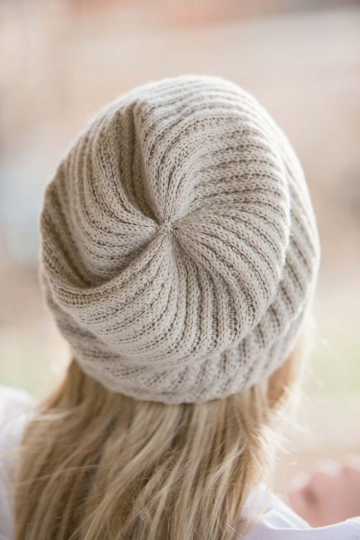 Вязание шапки спицами Nautilus