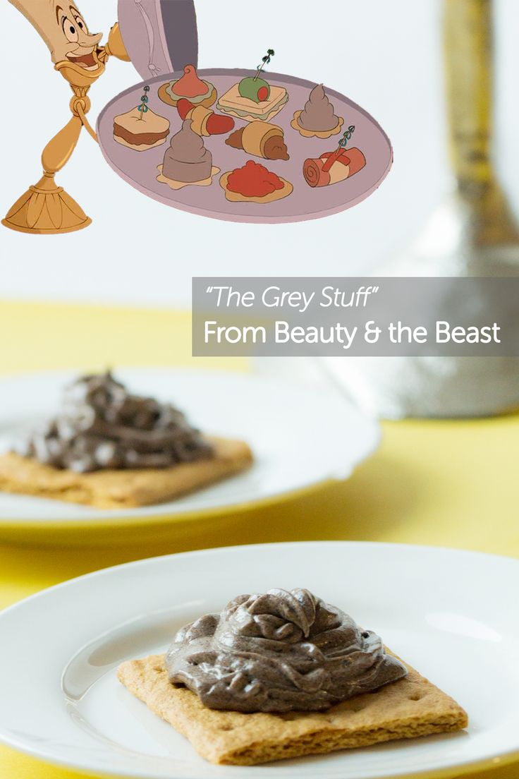 "How to make ""the grey stuff"" from Beauty and the Beast and other disney themed snacks"