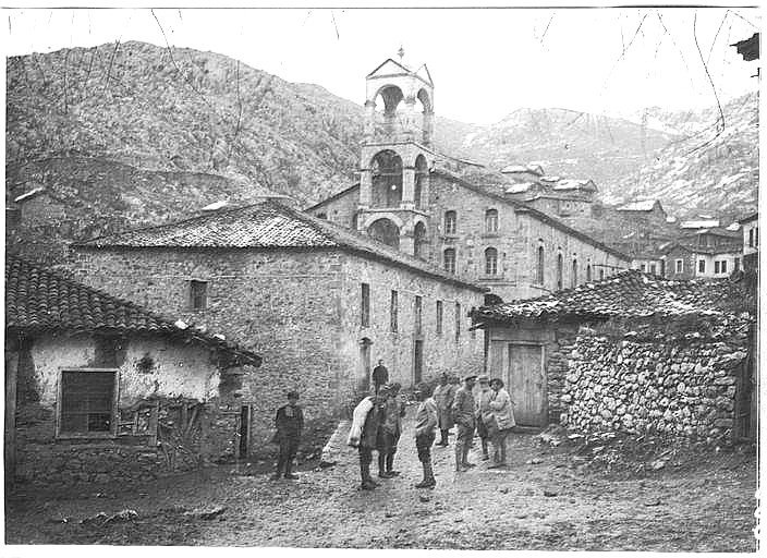 St. George Church in Smrdesh (Kristalopigi), Greece (c 1914-1918)