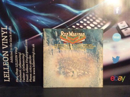 Rick Wakeman Journey To The Centre Of The Earth Gatefold LP 87745IT Rock 70's Music:Records:Albums/ LPs:Rock:Progressive