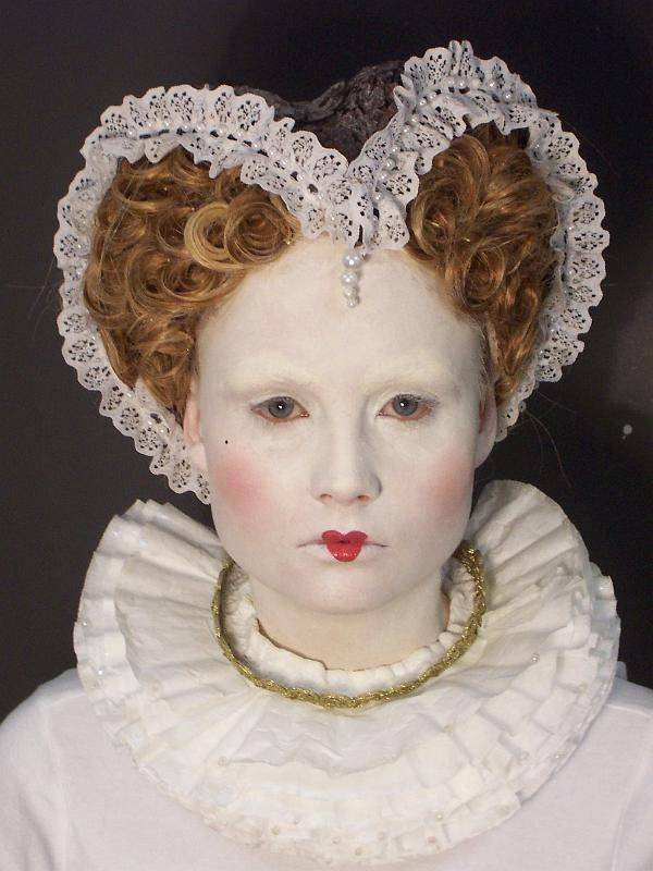 renaissance hair style 17 best images about elizabethan makeup on 3762