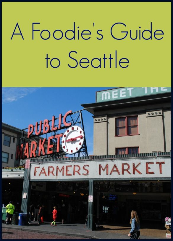 Seattle seriously won Jenn's heart ... through her taste buds. Oh, so many delicious eats!