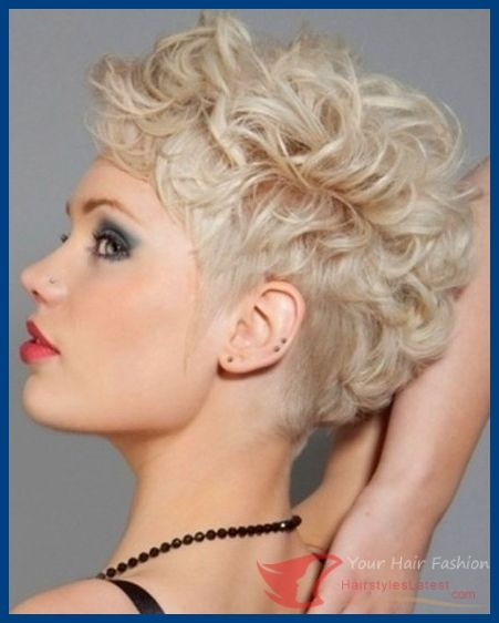 Short Curly Hairstyles for Women: Blonde Hair | PoPular Haircuts - Hairstyleslatest.com