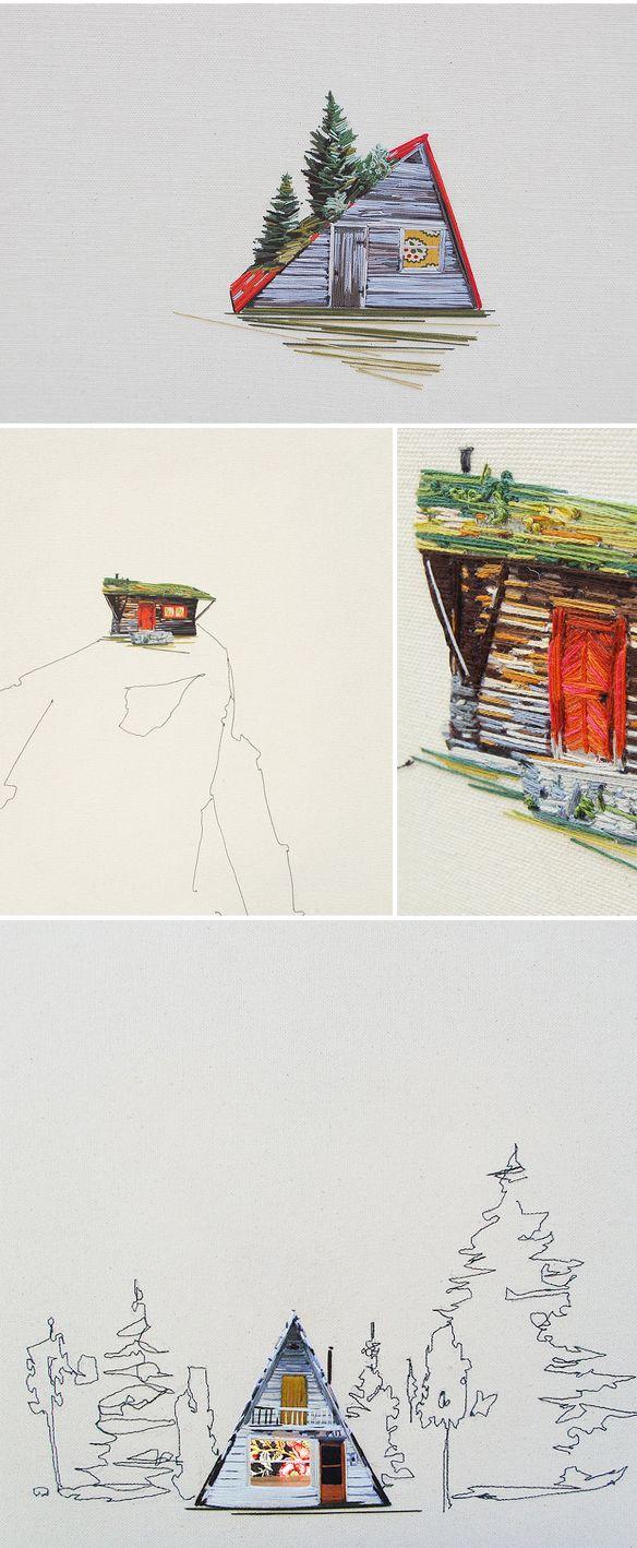 stephanie k. clark - embroidery <3