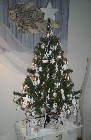 Teljes fotó a karácsonyfáról.