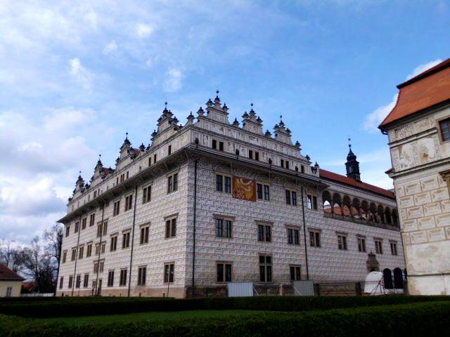 zámek v Litomyšli