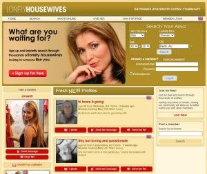 Lonely wife hookup reviews