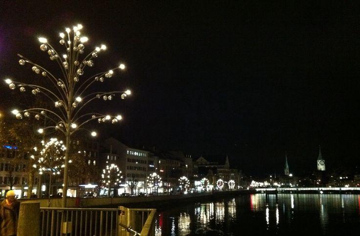 Die Lichter kurz vor Weihnachten sind am schönsten in Zürich