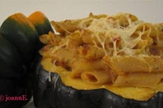 Baked Pumpkin Ziti Alfredo, a recipe on Food52