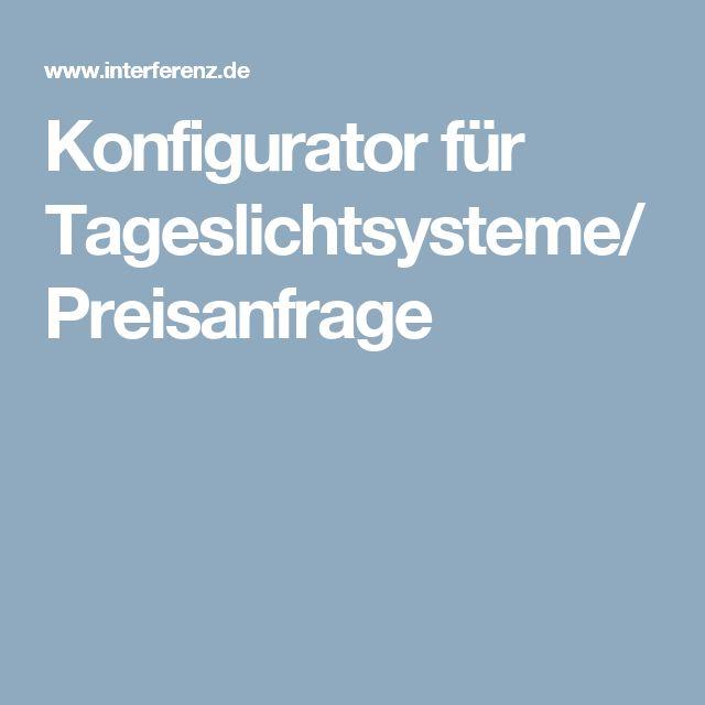 Fresh Konfigurator f r Tageslichtsysteme Preisanfrage