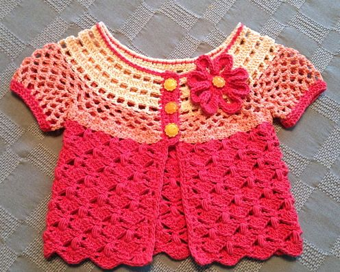 The Pattern Paradise--Maria Bittner--12-101 Sunburst Cardigan - Crochet