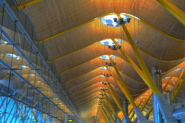 Photo Madrid Airport HDR by Mohamed Raouf on 500px