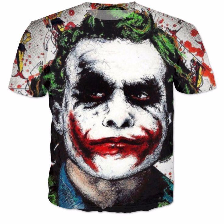 >> Click to Buy << Batman The Joker DC Comics Superhero 3D Print T-Shirt Women Men Summer T Shirt Harley Quinn Carnage Joker Tee Outfit S-6XL R2085 #Affiliate