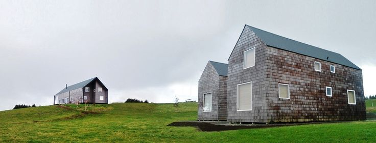 Viviendas en Frutillar. DELSANTE Architects. Frutillar, Chile.