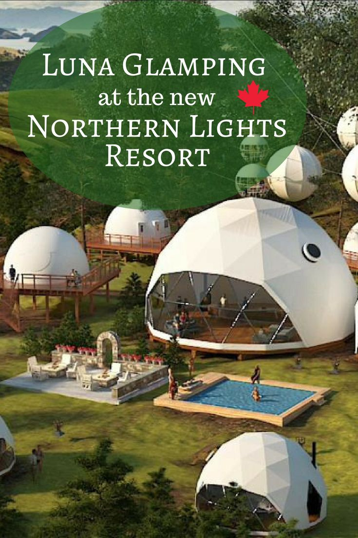Check out Luna Glamping at the new Northern Lights Resort opening 2018 in Alberta, Canada #northernlightsresort#ymmglamping#lunaglamping#glamping #ymm #explorealberta #alberta