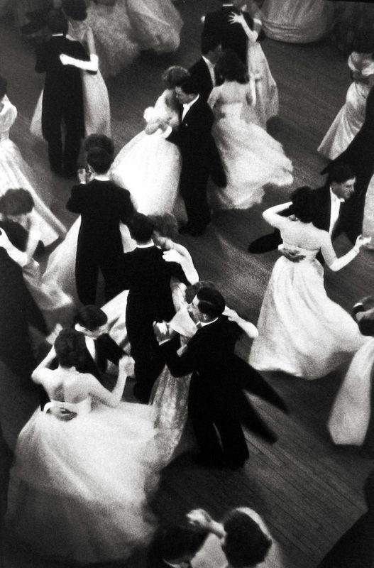 Baile de la reina Charlotte por Henri Cartier-Bresson, Londres 1959