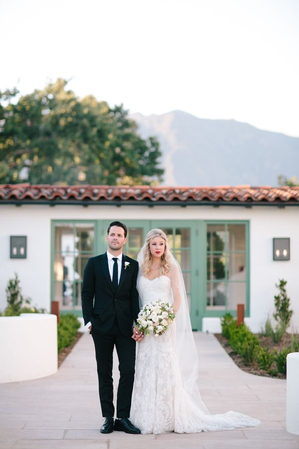 Bridal Hair And Makeup Al Fresco Ojai California Wedding Featured On Style Me Pretty