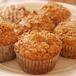 Photo de recette : Muffins faciles pommes-cannelle