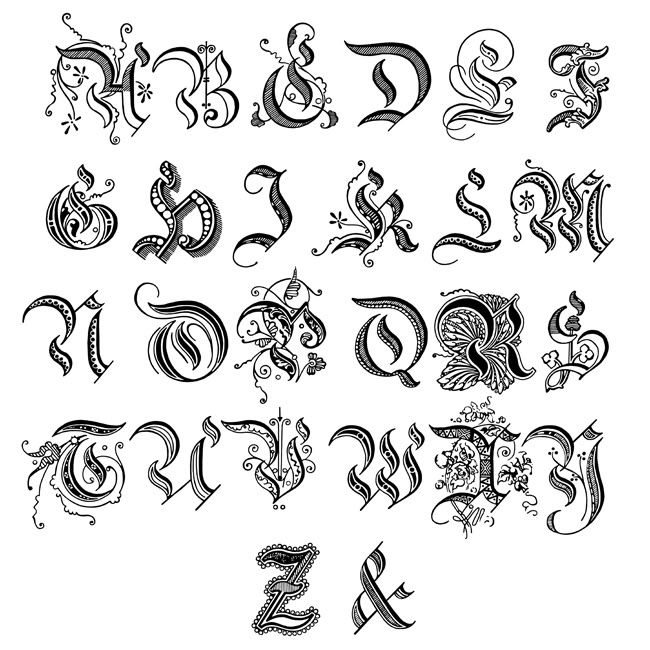 Fonts Fancy Script Dominic Vasquez | Graffiti Alphabet ...