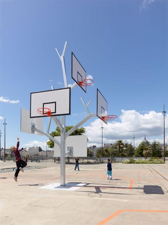 Árvore de basquete