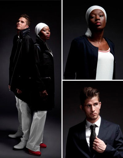 Adidas est le créateur officiel des tenues de l'équipe de France pour les JO depuis 1976.  Photo: (c) Adidas