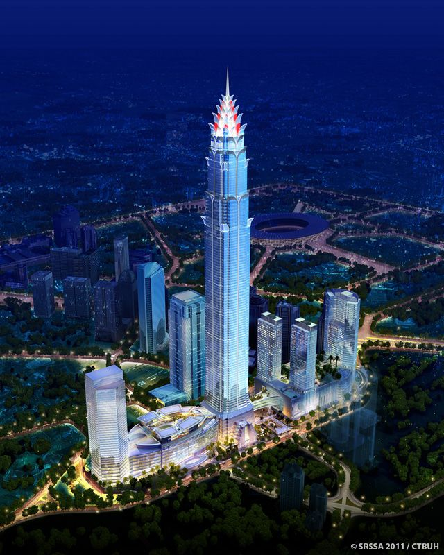Signature Tower Jakarta-Jakarta, Indonesia (638m/2093ft) (Smallwood Reynolds Stewart Stewart)