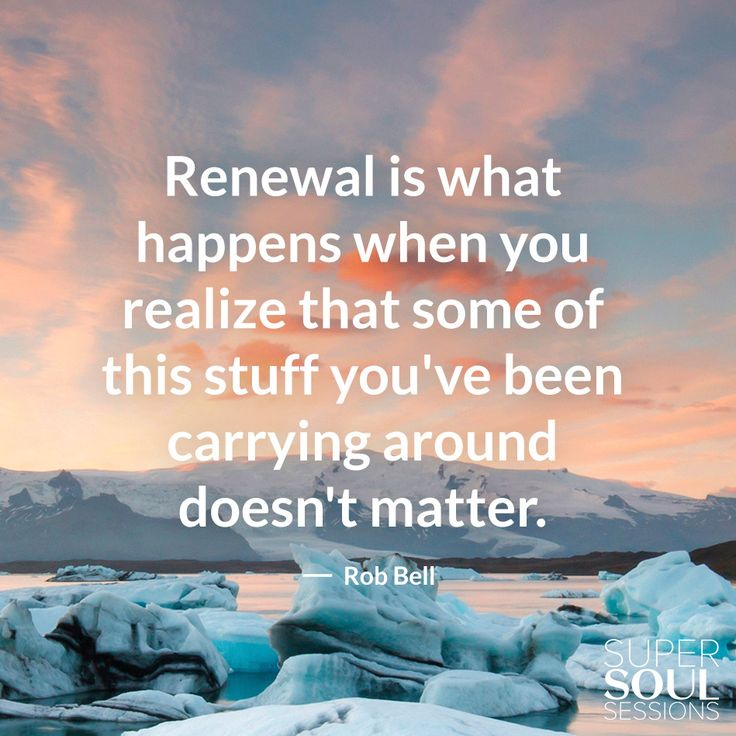 "Quote about What Really Matters - Rob Bell        ""Renewal is what happens when you realize that some of this stuff you"