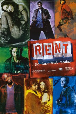 Rent - This is the film version of the Pulitzer and Tony Award winning musical about Bohemians in the East Village of New York City struggling with life, love and AIDS, and the impacts they have on America.