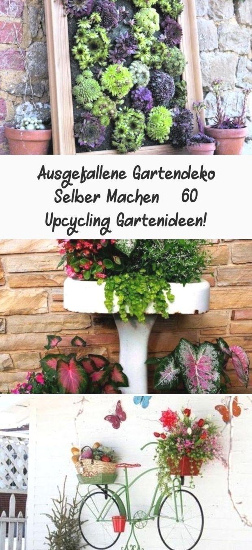 Ausgefallene Gartendeko Selber Machen – 20 Upcycling Gartenideen ...