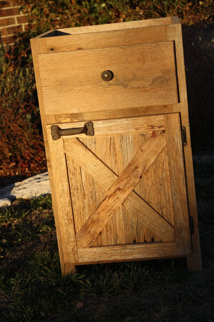 Rustic barn barn wood and barns on pinterest for How to make rustic cabinets
