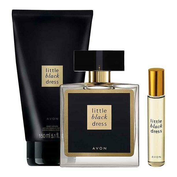 Little Set De Cream 150ml Eau Parfum Black Avon Dress body 50ml POXkZui