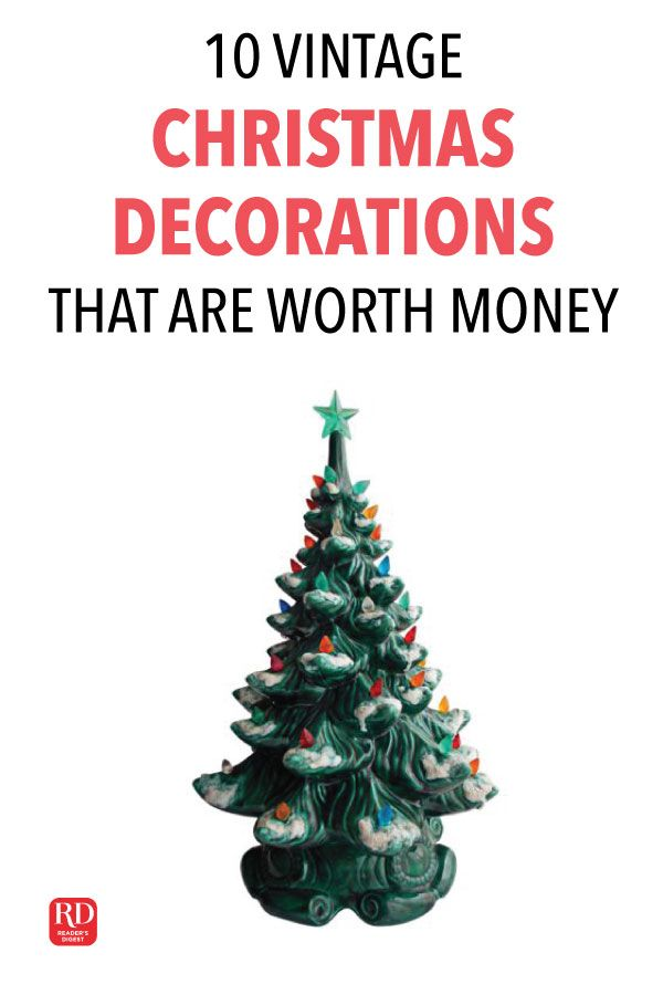 10 Vintage Christmas Decorations That Are Worth Money Today The