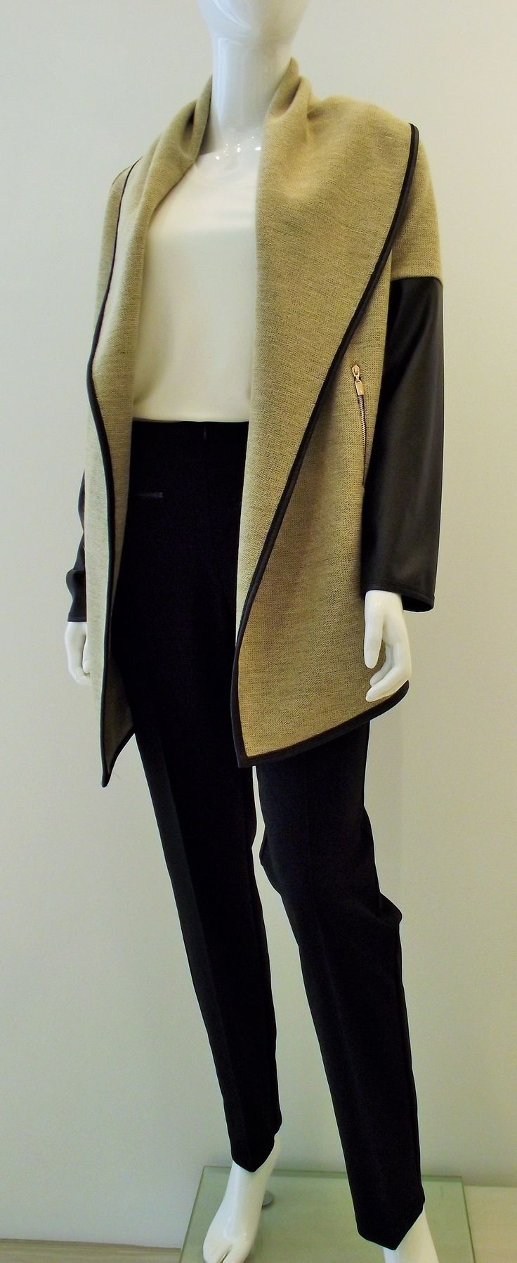 glamorous Ribkoff jacket that is perfect for fall! #classicboutique #classic #pickeringtowncenter #eastgwillimbury #josephribkoff