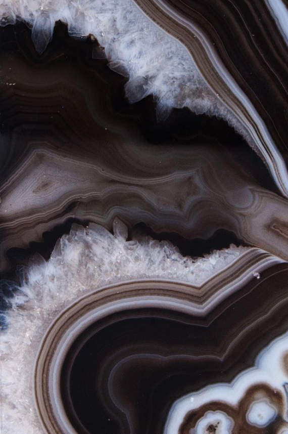 Brown Geode Photo Print Geode Photography Brown Natural In
