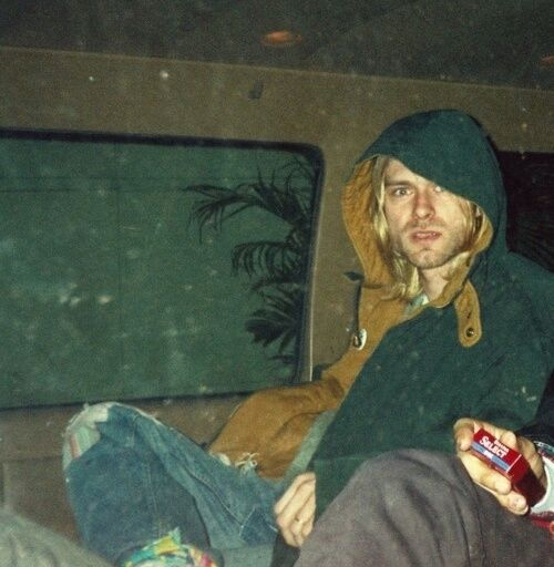 """""""The outside world is pretty foreign to me""""- Kurt Cobain"""