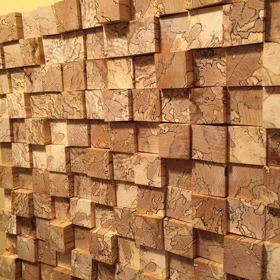 Reclaimed Wood Wall Sculpture