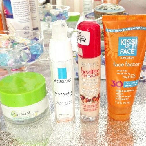 Everyday skin care & makeup base