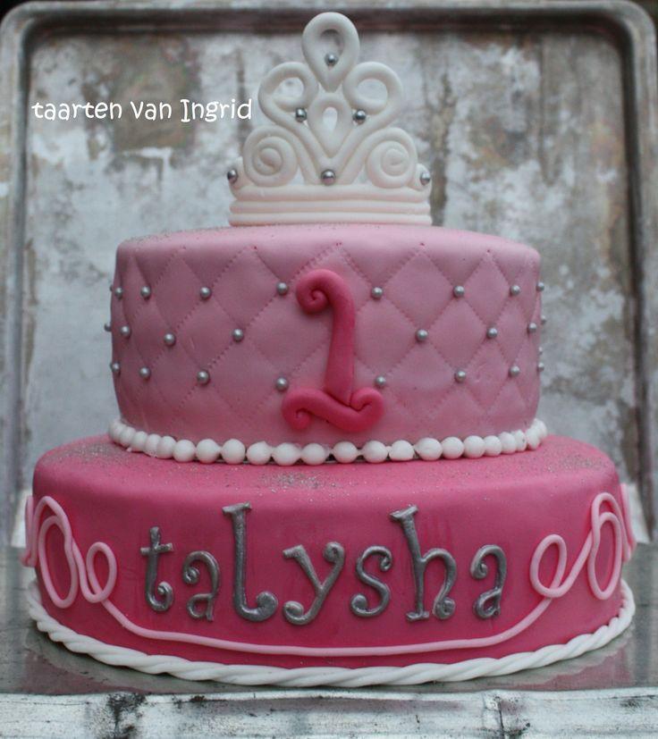 Prinses tiara taart