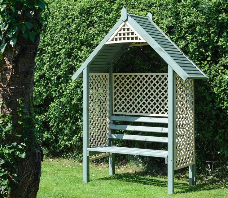 Valencia Vision Two Tone Arbour - GardenSite.co.uk