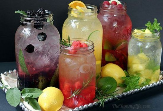 These drinks were posted on The Whoot.com and look very refreshing and cool for this hot summer we are having.